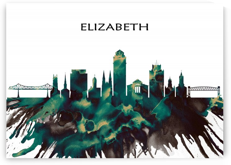 Elizabeth Skyline by Towseef Dar