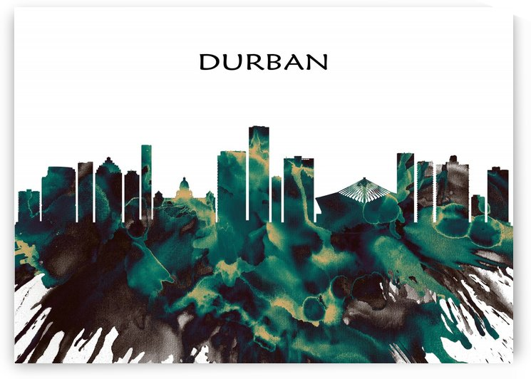 Durban Skyline by Towseef Dar