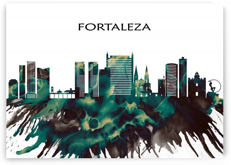 Fortaleza Skyline by Towseef Dar