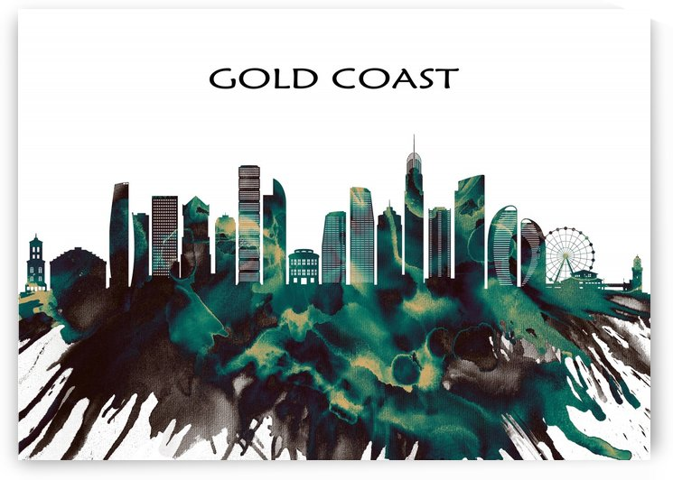 Gold Coast Skyline by Towseef Dar