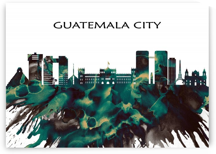 Guatemala City Skyline by Towseef Dar