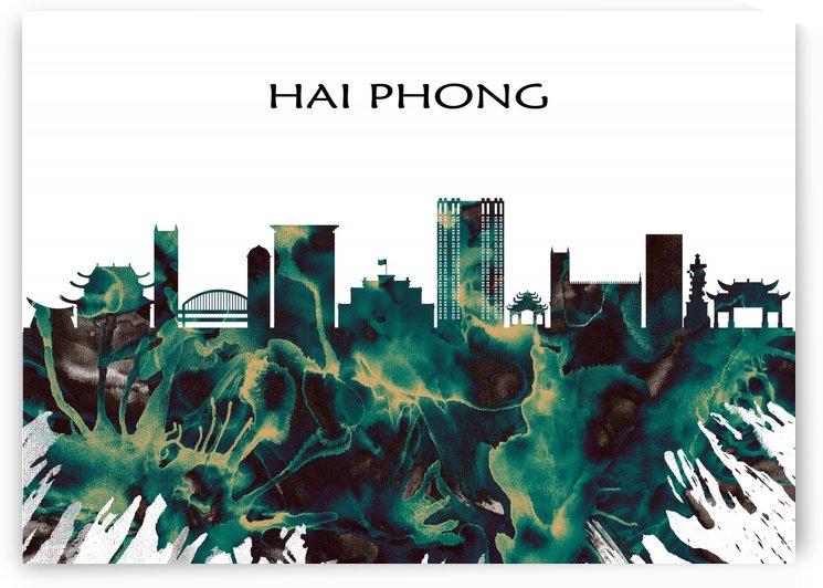Hai Phong Skyline by Towseef Dar