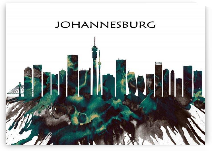 Johannesburg Skyline by Towseef Dar