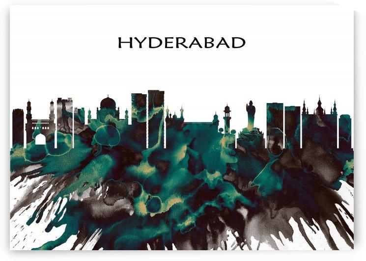 Hyderabad Skyline by Towseef Dar