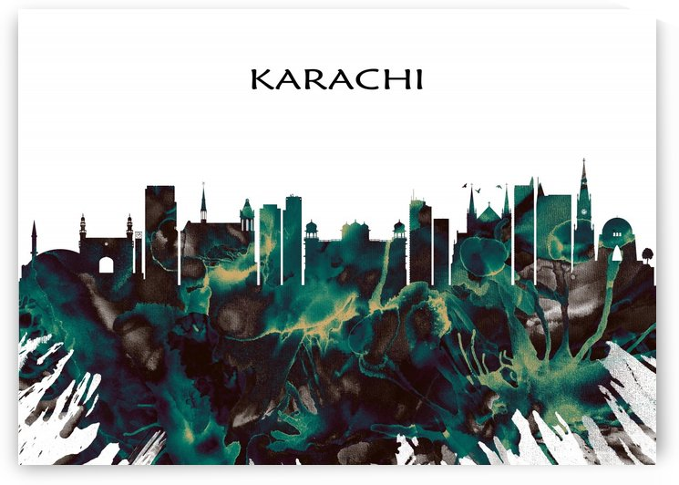 Karachi Pakistan by Towseef Dar
