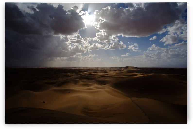 Desert light-Lumiere sur le Desert by Stephane Peter