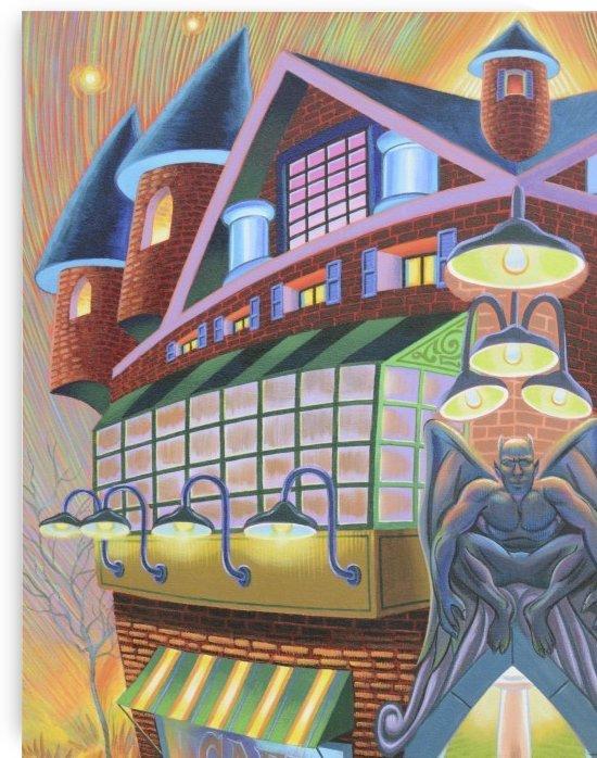 Gargoyle Inn by Mr  Atomic Art