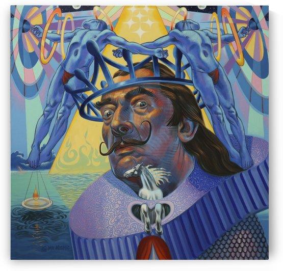Salvador Dali by Mr  Atomic Art