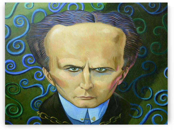 Harry Houdini by Mr  Atomic Art