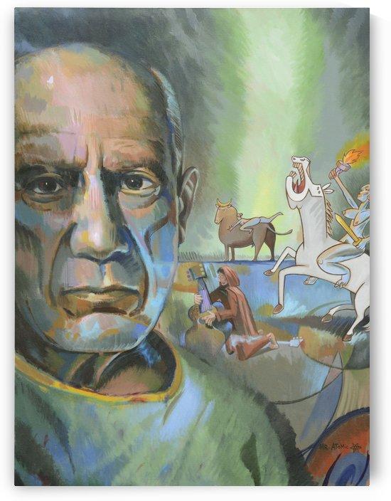 Picassos Mistresses by Mr  Atomic Art