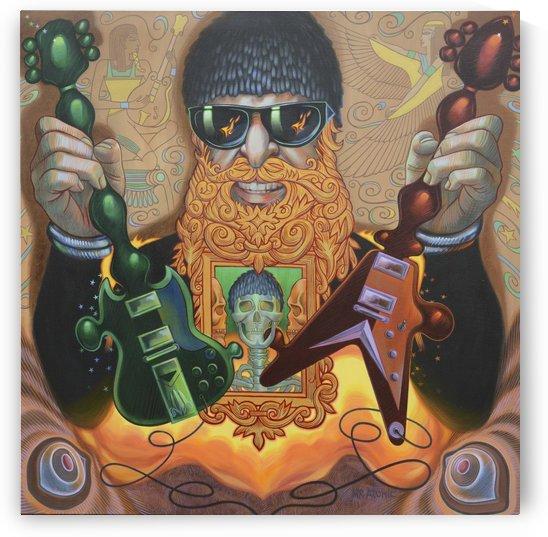 Billy Gibbons-ZZ Top by Mr  Atomic Art