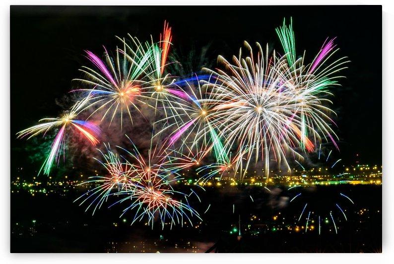 Rainbow Fireworks by RezieMart