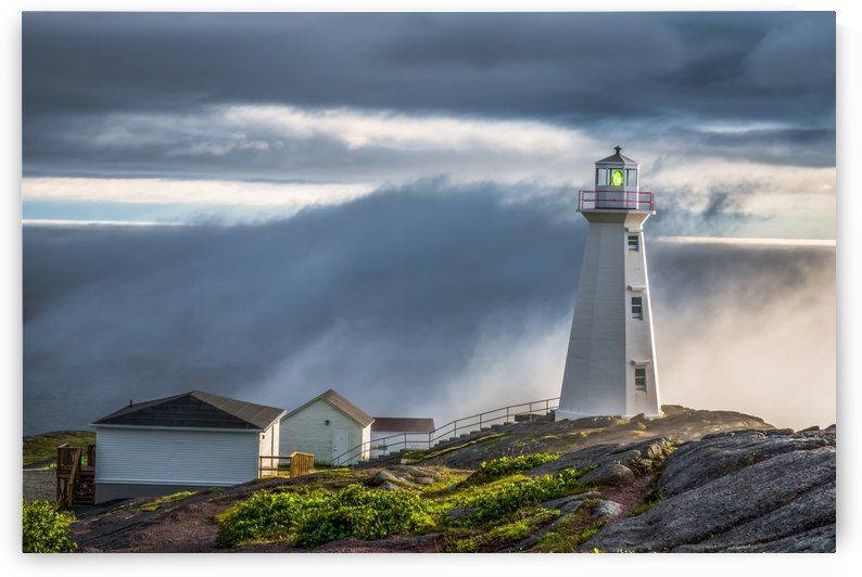 Cape Spear Lighthouse by Bob Kofman