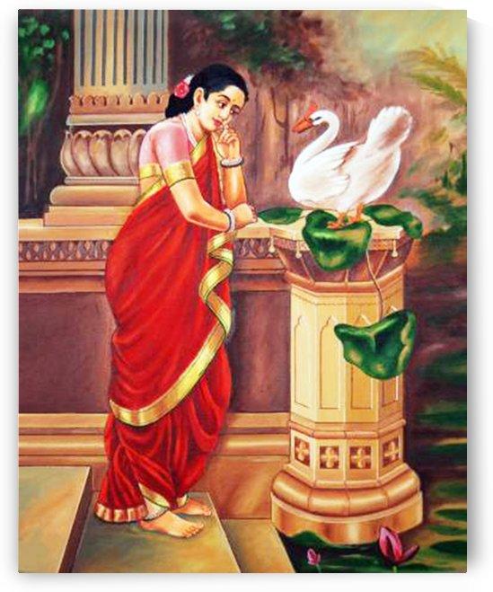 DHAMAYANTHIRAVI VARMA by RAGUNATH SIDE VENKATRAMAN
