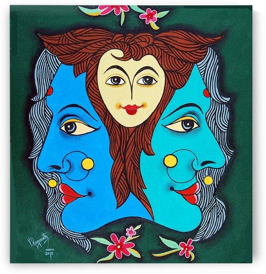 THREE FACES OF SMILING by RAGUNATH SIDE VENKATRAMAN