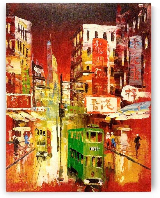 Wanchai Night by Adi