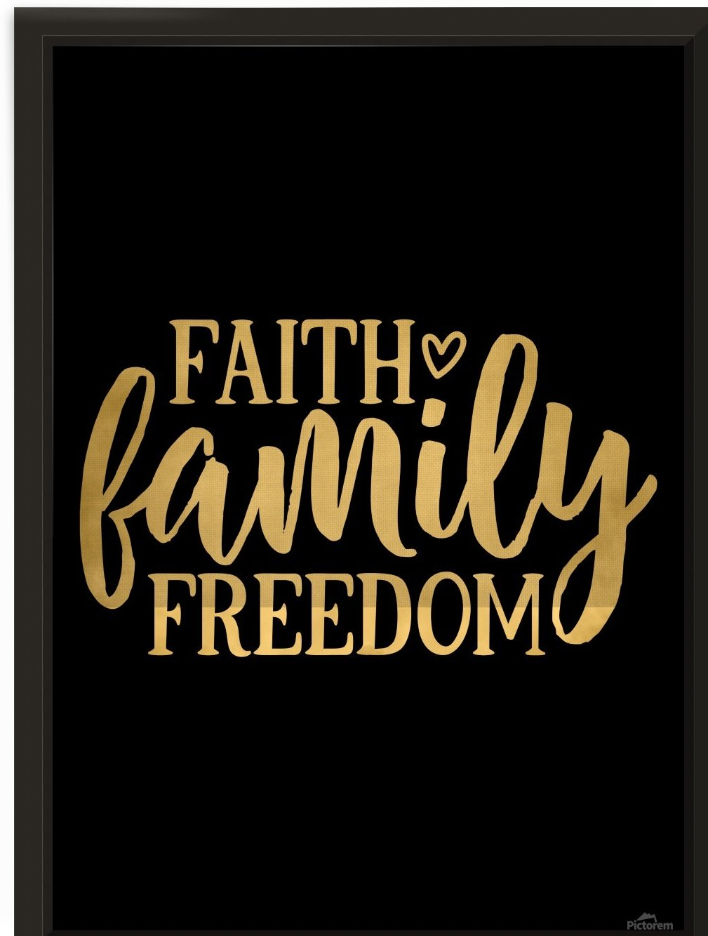Faith Family Freedom by Artistic Paradigms