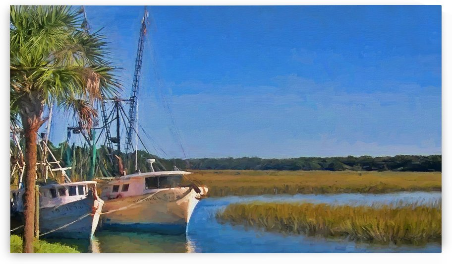 Low Country Marsh by HH Photography of Florida