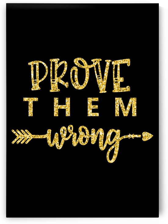Prove Them Wrong by Artistic Paradigms