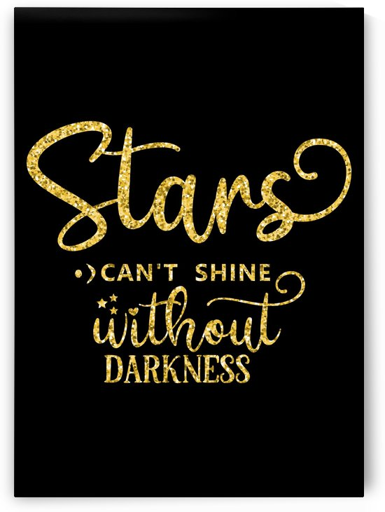 Stars cannot Shine without Darkness by Artistic Paradigms