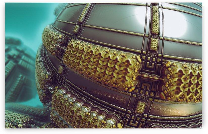 Deriba sphere by Jean-Francois Dupuis