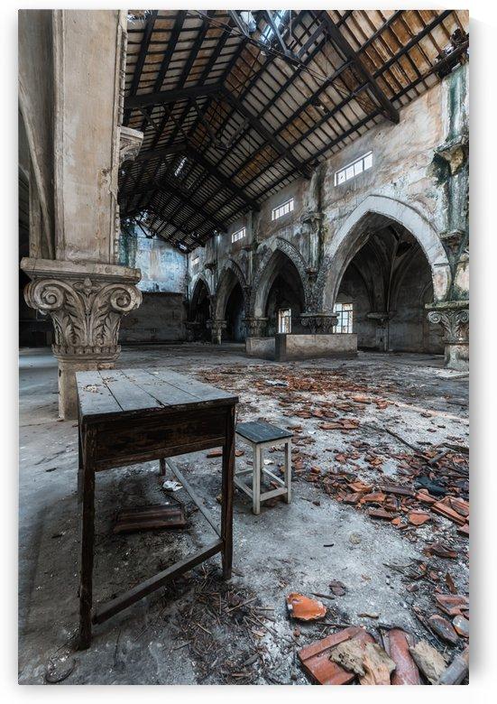 Abandoned Church Inside by Steve Ronin