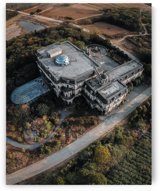 Abandoned Chinese Cinderellas Mansion by Steve Ronin