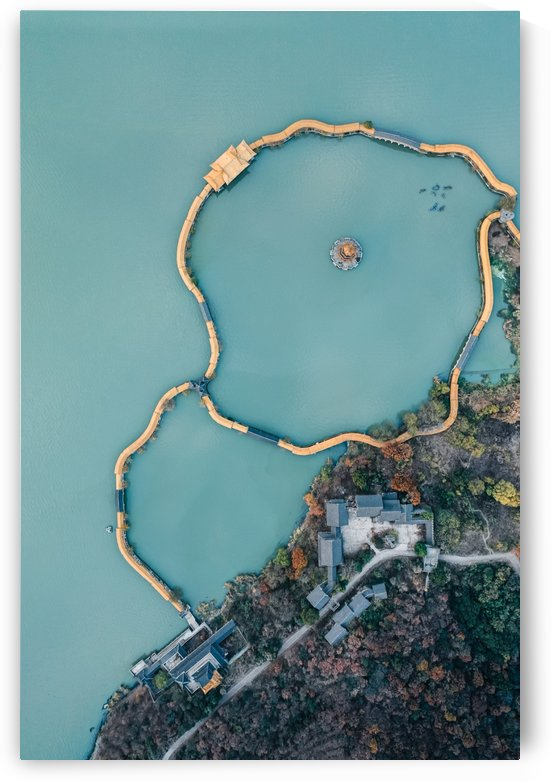 Abandoned Lake Park by Steve Ronin