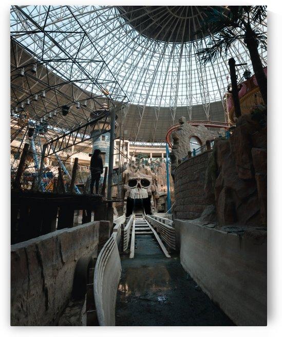 Abandoned Indiana Jones Theme Park by Steve Ronin