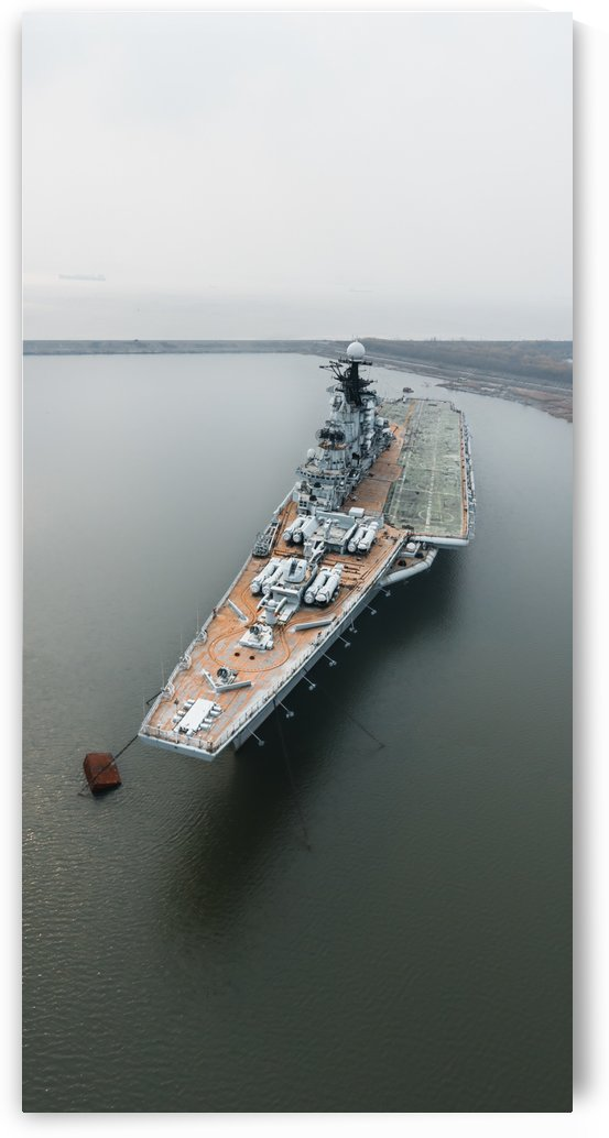 Abandoned Minsk Warship by Steve Ronin