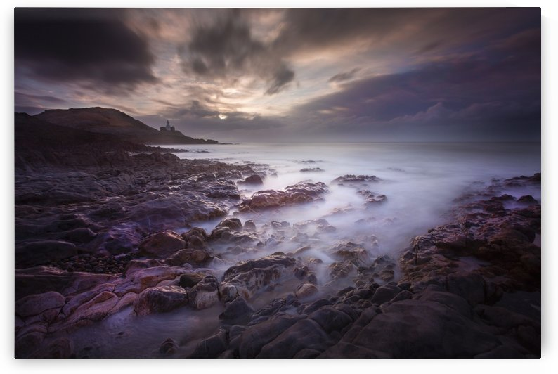 Daybreak at Bracelet Bay by Leighton Collins
