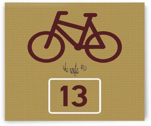 Bike Route number 13 by dePace-