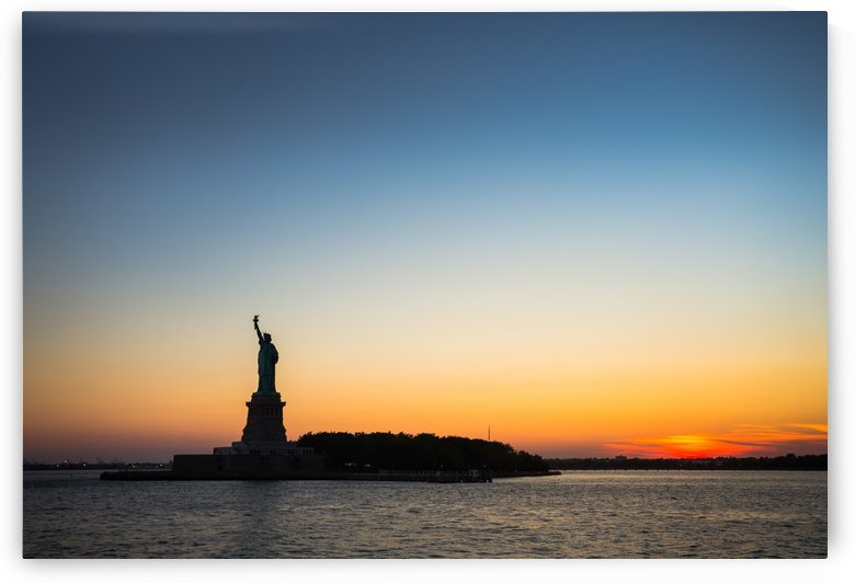Liberty at Sunset by Dan Fleury