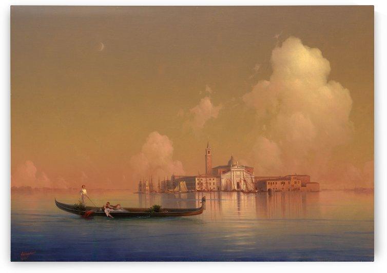 View of Venice. San Giorgio Maggiore by Ivan Aivazovsky