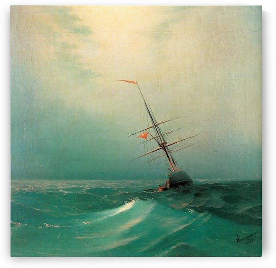 Blue wave by Ivan Aivazovsky