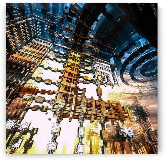 Hoax city  by Jean-Francois Dupuis
