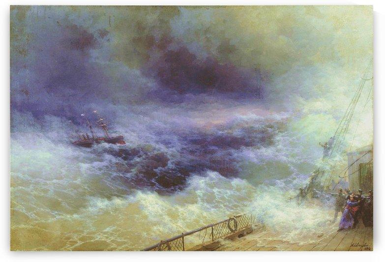 Ocean by Ivan Aivazovsky