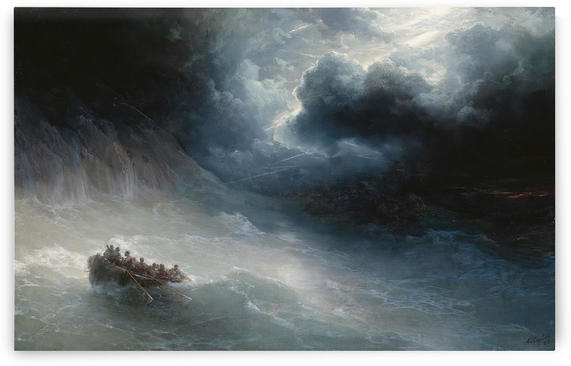 The Wrath of Sea by Ivan Aivazovsky