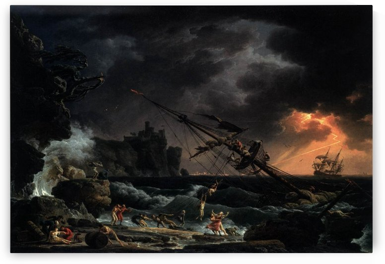 The Shipwreck by Ivan Aivazovsky