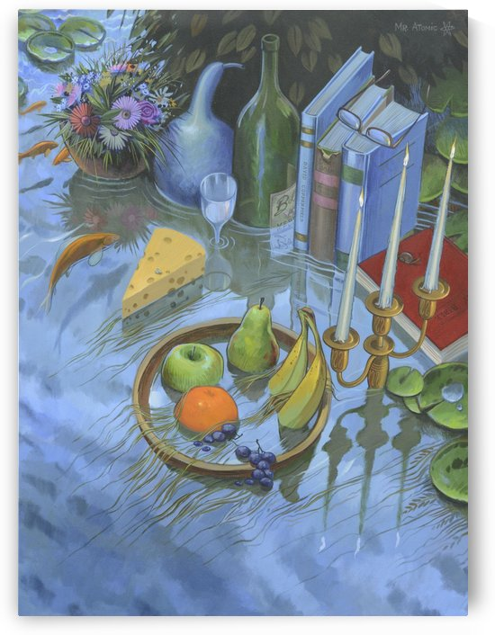 Still Life Katrina by Mr  Atomic Art