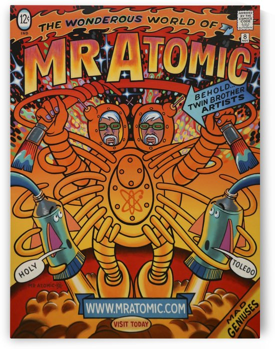 mr_atomic_comics_mr_atomic by Mr  Atomic Art