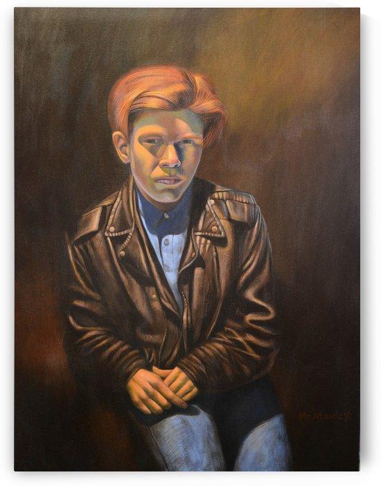 Portrait of a Rebel by Mr  Atomic Art