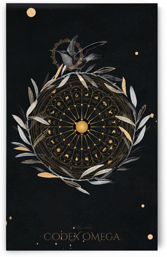 OMEGA CODEX BLACK NIGHTINGALE ART PIECE by CHRISTINA SOLARIS