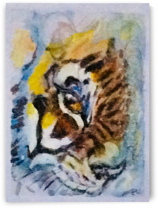 Eye of The Tiger  by Zaramar Paintings