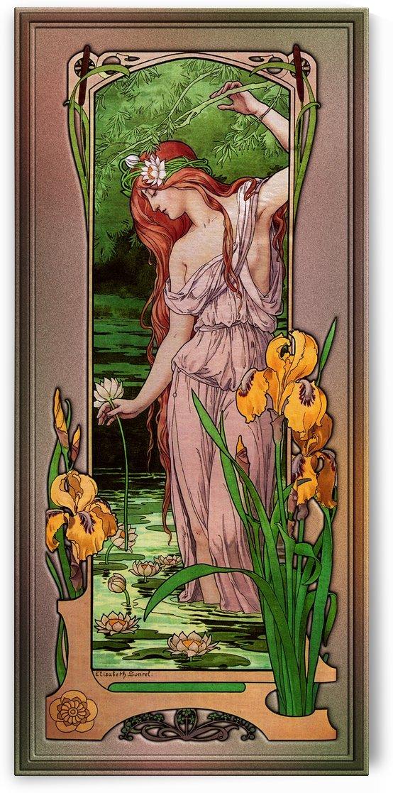 Flowers Of Water by Elisabeth Sonrel by xzendor7