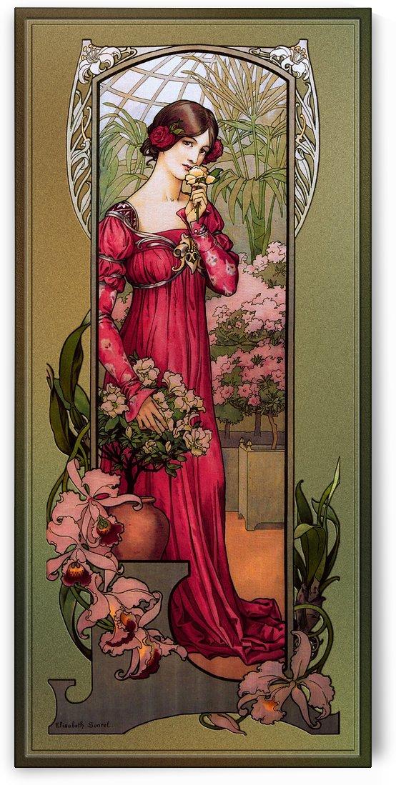 Flowers Of Gardens by Elisabeth Sonrel by xzendor7
