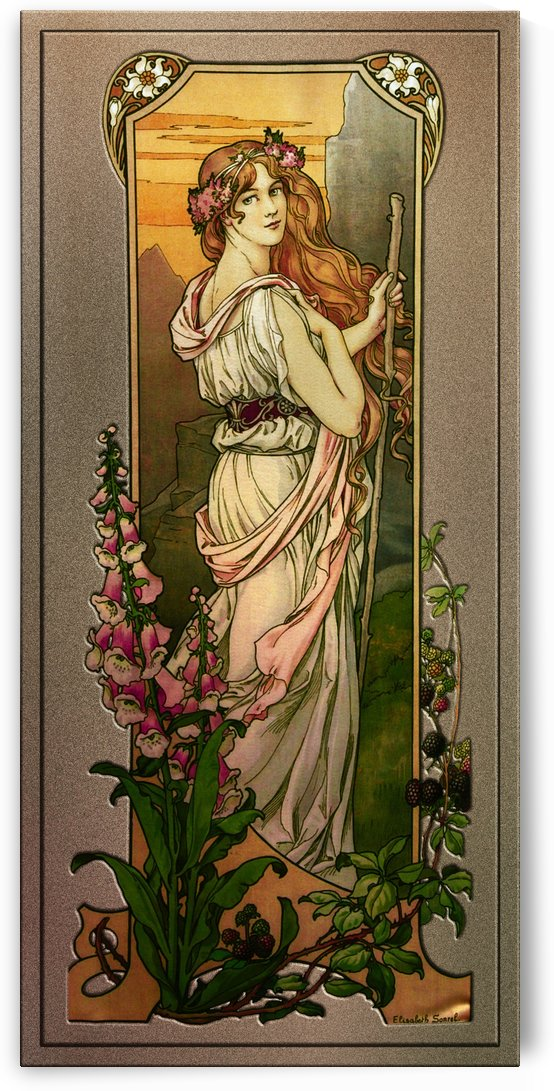 Flowers Of Mountains by Elisabeth Sonrel by xzendor7