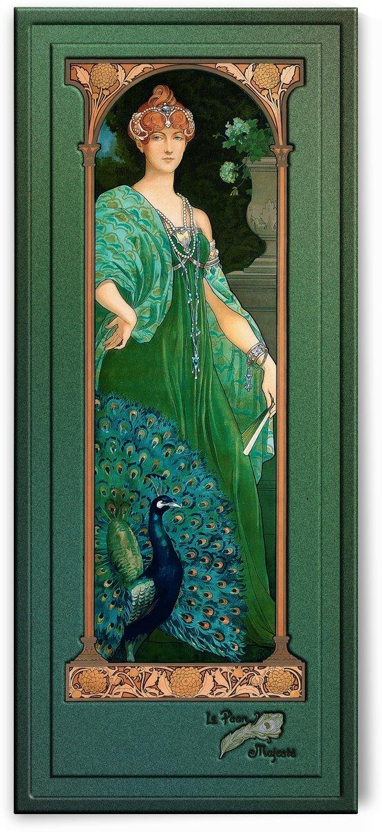 The Majestic Peacock by Elisabeth Sonrel by xzendor7