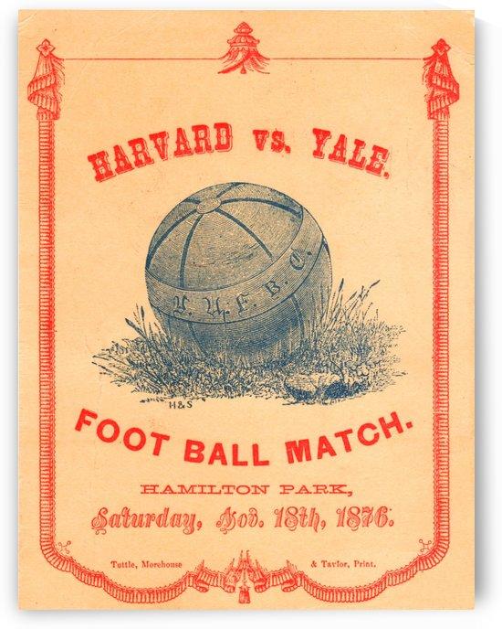 1876 Harvard vs. Yale by Row One Brand