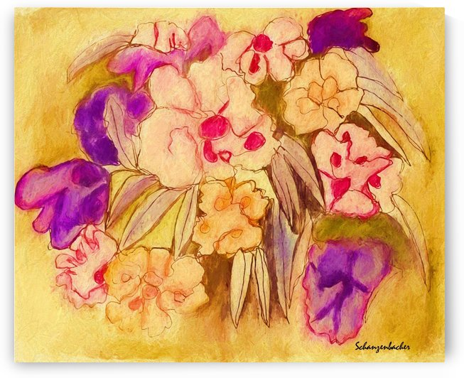 Pansies by Aurelia Schanzenbacher Sisters Fine Arts